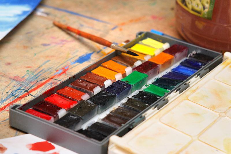 качественные акварельные краски