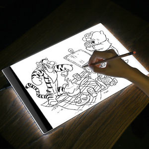 Планшет с подсветкой для рисования и копирования