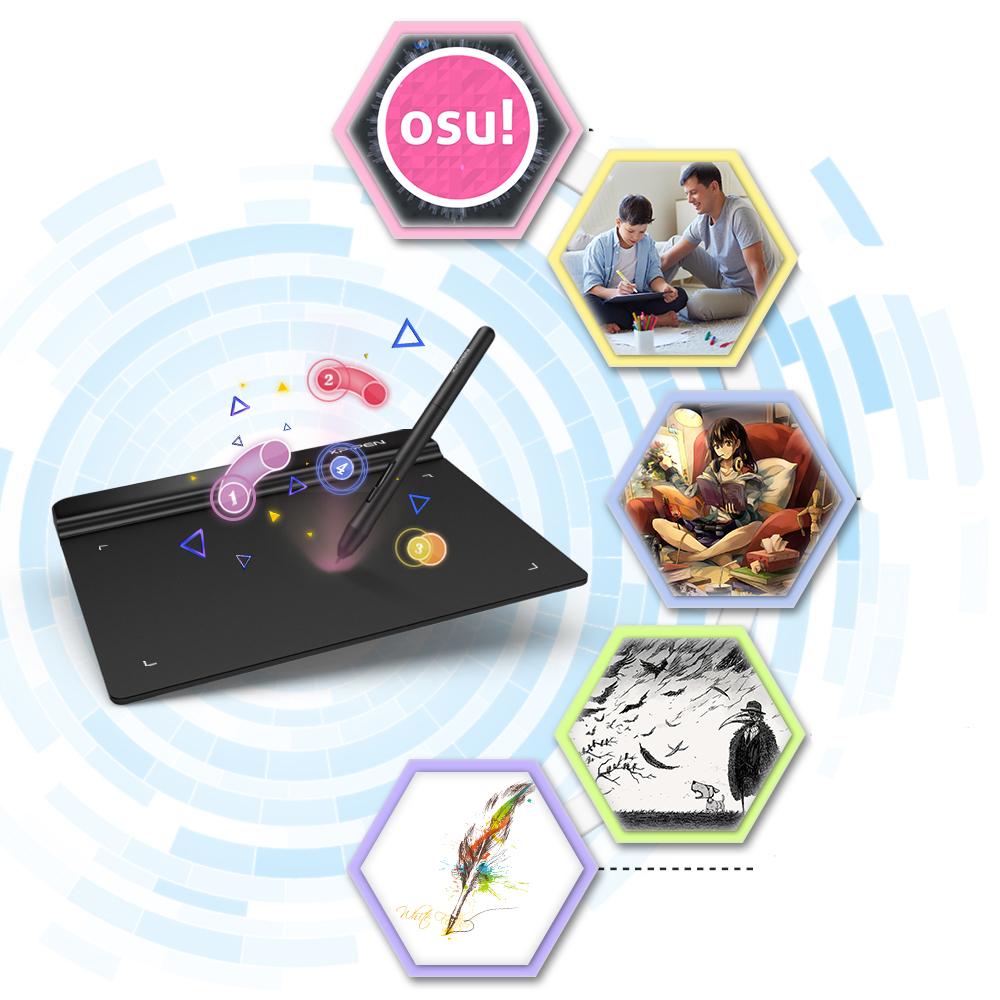 Графический планшет G-640