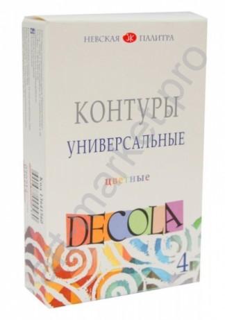 Контур универсальный Decola, бирюзовый 18 мл