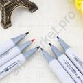 Спиртовые маркеры «FINECOLOUR» 24 стандартных оттенка