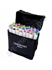 Маркеры для скетчинга Touchfive  Набор для анимации и дизайна 40 цветов