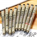 """Капиллярные ручки """"Pigma Micron""""  (0.8)"""