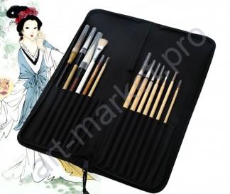 Подарочный набор с чехлом для художественных работ