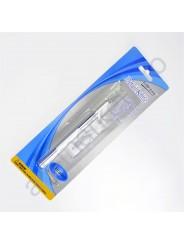 Нож макетный (скальпель) для дизайнерских работ WORISON + 5 лезвий