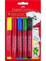 Маркеры для ткани Faber Castell