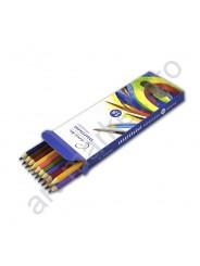Карандаши цветные акварельные «Сонет», 18 цветов