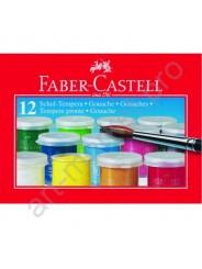 Краски гуашевые Faber Castell  12 цветов 15 мл