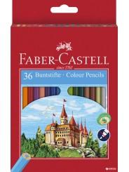 Набор цветных карандашей Faber-Castell  36 цвет