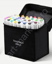 Маркеры для скетчинга Touchfive  Набор для дизайнеров одежды 30 цветов