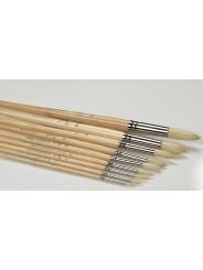 """Кисть щетина """"Сонет"""" круглая, длинная ручка, № 5, Ø7 мм"""