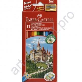 Карандаши цветные Faber Castell Замок 12 цветов