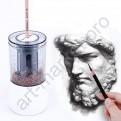 Профессиональная электрическая точилка для карандашей Tenwin Art