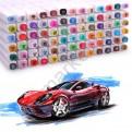 """Эскиз-маркеры """"Touchfive"""" Набор для дизайнеров интерьера 40 цветов"""