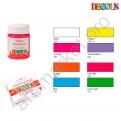 Флуоресцентная акриловая краска для ткани DECOLA