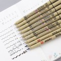 """Капиллярные ручки """"Pigma Micron""""  (0.5)"""