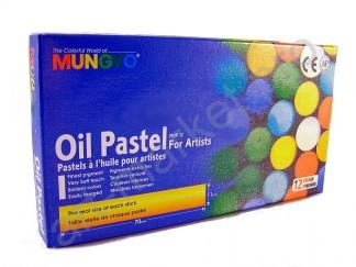 Набор пастели масляной Mungyo 12 цветов