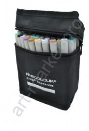 Маркеры для скетчинга  FINECOLOUR  36 цветов. Набор для анимации и дизайна