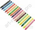 Карандаши восковые Faber Castell 16 цветов (4 флуорисцентные)