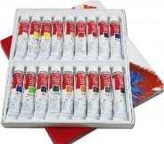 Набор профессиональных масляных красок  Winsor & Newton 18 цветов