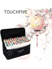"""Эскиз-маркеры """"Touchfive"""" Набор для анимации и дизайна 40 цветов"""