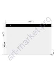 Световой планшет формат А2 для рисования и копирования мощность 10 W