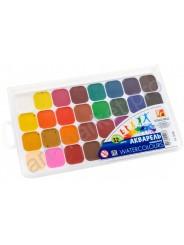 Краски акварельные ЛУЧ «Классика» 32 цвета