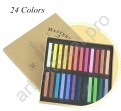 Пастель художественная профессиональная сухая, 24 цвета, Marie's MASTER