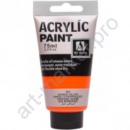 "Акриловая краска ""ACRYLIC"" 75 МЛ цвет «Orange yellow»"