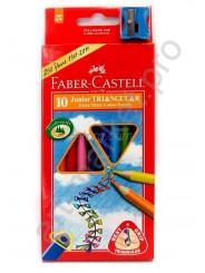 Faber Castell Карандаши цветные Junior 10 цветов