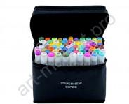 Набор маркеров  для скетчинга TOUCHNEW  60 цветов. Ландшафтный дизайн