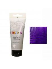 Гель-паста DECOLA глянцевая Фиолетовая 100мл
