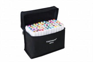 Маркеры Touchfive  Набор для интерьерного скетчинга 80 цветов