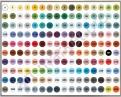 Вся палитра цветов маркеров «FINECOLOUR»