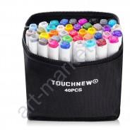 Набор маркеров TOUCHNEW 40 цветов для интерьерного скетчинга