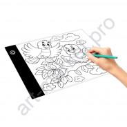 Световой планшет формата_А5_LED Light Pad_ для рисования и копирования_1