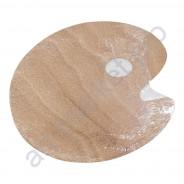 Палитра деревянная овальная 18 х 24 см