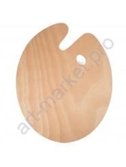 Палитра деревянная овальная 20 х 30 см