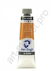 Масляные краски Van Gogh, Охра жёлтая 227