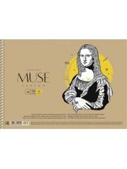 Альбом для эскизов на спирали MUSE А4 100 г/м2 50 листов