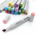 Маркеры для скетчинга «FINECOLOUR» для архитекторов 36 цветов