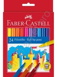 Фломастеры Faber-Castell Feltip 24 цвета