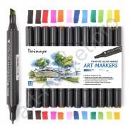 SKETCH маркеры «STA» 12 цветов