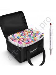 Маркеры для скетчинга  Touchnew  вся цветовая палитра 168 цветов