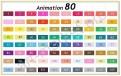 """Маркеры для скетчинга """"Touchfive"""" 80 цветов. Анимация и дизайн"""