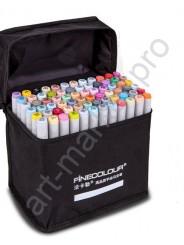 Маркеры для скетчинга «FINECOLOUR» для архитекторов 72 цвета