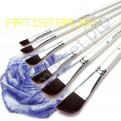 Worison 6 штук, Набор синтетических кисточек для рисования