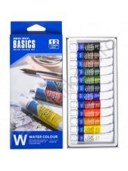Краски акварельные «BASICS»