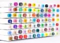 """Маркеры """"Touchfive"""" Набор для интерьерного скетчинга 80 цветов"""