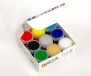 Акриловые краски по ткани Decola, набор 9 цветов 20 мл